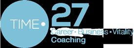 Time27 Career Business Vitality coaching Logo