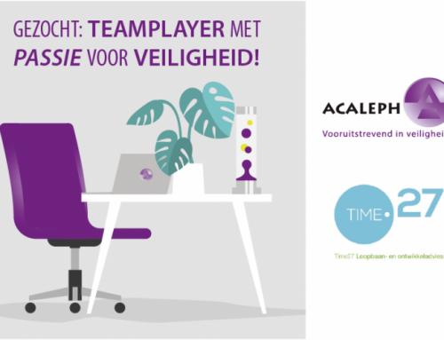 Gezocht: Teamplayer met Passie voor Veiligheid !